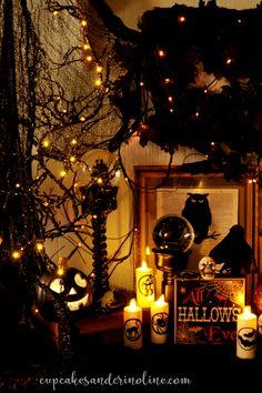 Halloween display wi