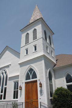 Church. Beaufort, North Carolina.