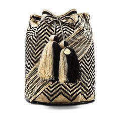 Guanabana Large Bucket Crossbody Bags (€265) ❤ liked on Polyvore featuring bags, handbags, shoulder bags, drawstring purse, drawstring handbags, drawstring shoulder bag, bucket handbags and black cross body purse
