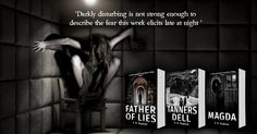The Father of Lies occult horror trilogy is now in paperback, on kindle and on audio. 550 reviews across amazon.. http://www.amazon.co.uk/dp/B015NCZYKU