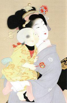 日本百名人~日本画家が語る、日本の名画家100選 Uemura Shoen