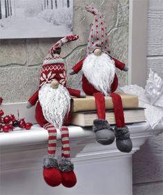 14 pouces de haut Noël vacances tissu Gnome 16.21 usa + port .