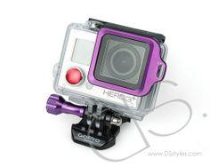 GoPro Aluminum LANYARD RING Mount For HD Hero 3 Plus Camera - Purple                     http://www.dsstyles.com/product/gopro-aluminum-lanyard-ring-mount-for-hd-hero-3-plus-camera---purple
