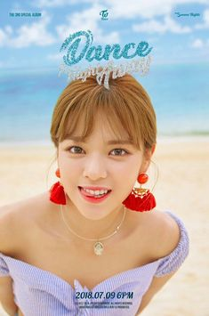 TWICE's Momo, Nayeon, and Jungyeon enjoy a beach day in more 'Dance the Night Away' teaser images Suwon, Nayeon, Kpop Girl Groups, Korean Girl Groups, Kpop Girls, Twice Jungyeon, Twice Kpop, K Pop, Twice Album