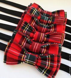 Галстук бабочка Шотландская история - в клеточку,шотландка,галстук,галстук-бабочка