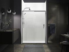 Kohler Purist Basin Mixers & Moxie Combination Rain Shower Kohler Purist, Cast Iron Bath, Shower Base, Basin Mixer, Rain Shower, Chrome Plating, Locker Storage, Kitchen Appliances, Mixers