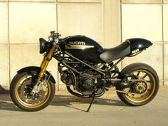 One of the first Ducati Monster's I was wowed by when looking for inspiration for my Monster Project...