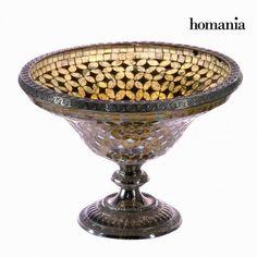 Centro mosaico dorado - Colección Alhambra by Homania