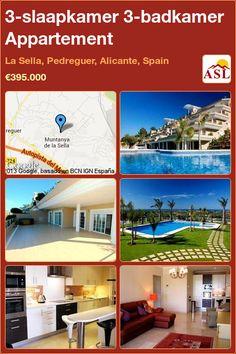 3-bed 3-bath Apartment in La Sella, Pedreguer, Alicante, Spain ►€395,000 #PropertyForSaleInSpain