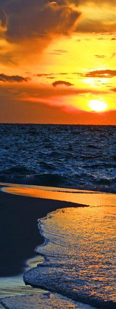Beach Sunset, Maldives