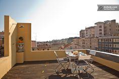 Central Apartment & 360º Terrace in Lisbon