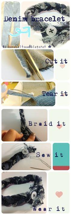 DIY Denim Ideas - Glam Bistro