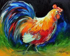 """""""Rooster Strut'n"""" par Marcia Baldwin"""