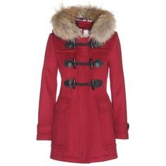 Burberry Brit Wool Duffle Coat