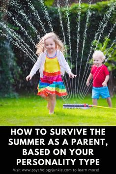 The summer can be a beautiful and overwhelming time for many parents, and there are some unique struggles that each personality type faces when dealing with children. This article is packed with tips for managing the summer craze without losing your mind! #MBTI #Personality #INFJ #INFP #INTJ #ENFP #ENTP #ENFJ #ENTJ #ISFJ #ISTJ #ISFP #ISTP #ESFP #ESTP #ESFJ #ESTJ Intj Enfp, Esfp, Mbti Personality, Feeling Trapped, Lose Your Mind, Myers Briggs Personalities, Psychology, Psicologia
