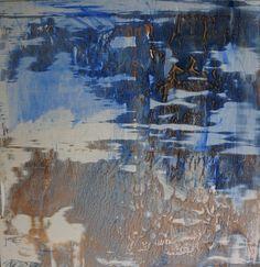 """Saatchi Art Artist Saulius Dastikas; Painting, """"Glacier"""" #art"""
