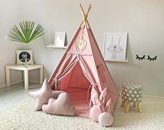 Teepee Kids Teepee Tee Pee Tent Tee Pee Tipi Play Tent | Etsy