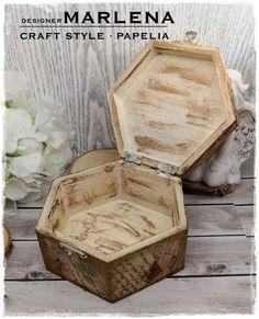 Szkatułka Vintage wykonana techniką Decoupage | CRAFT STYLE - blog Style Blog, Decoupage, Crafts, Vintage, Manualidades, Handmade Crafts, Vintage Comics, Craft, Arts And Crafts