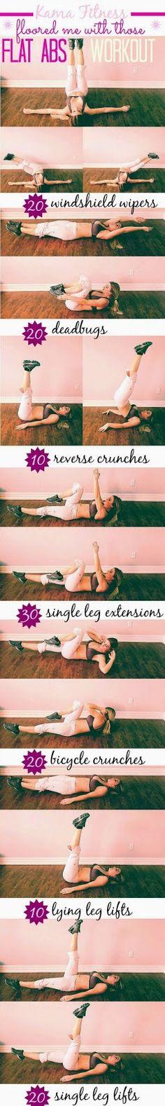 Work It Baby - Work It!: Flat AB Workout