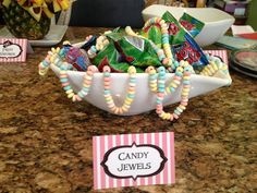 Pirate-Themed Candy Buffet | Girls Pirate Party Game Ideas | Catch My Party