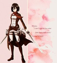 Mikasa is sooo cool shes from attack on titan re pin if u love attack on titan Home Wallpaper, Mikasa, Attack On Titan, Wonder Woman, Superhero, Cool Stuff, Fictional Characters, Wallpaper For Home, Fantasy Characters