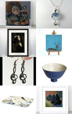 sunny blue monday by Sonja Zeltner-Mueller on Etsy--Pinned with TreasuryPin.com