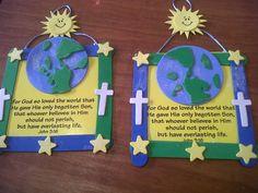 John 3:16 crafts - Google Search