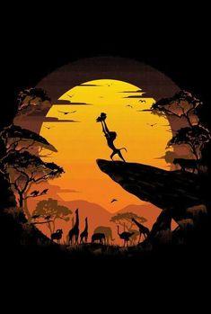 Le roi lion affiche impression - Fushion News Images Disney, Art Disney, Disney Kunst, Disney Movies, Lion King Drawings, Lion King Art, Lion King Movie, The Lion King, Simba Disney