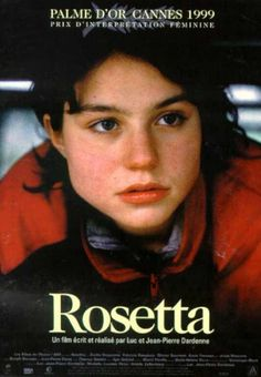 """Rosetta"", drama film by Jean-Pierre and Luc Dardenne (Belgium, 1999)"
