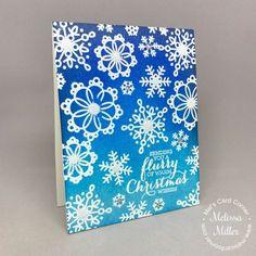Mel's Card Corner | Blue Christmas