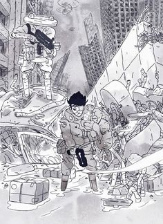 Comics&Cola: Valentin Seiche: wrecking ships and storming fortresses