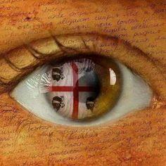 Nella pupilla dei nostri occhi ! La #Bandierasarda