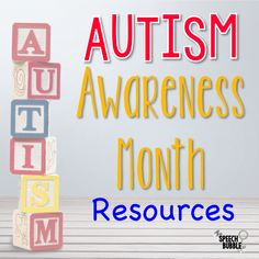 April is AUTISM AWARENESS MONTH! Check out these great resources for educators and parents alike! Great for speech and occupational therapists! #SPED #SLP #OT #ASD #spectrum #disorder #ideas #activities #resources