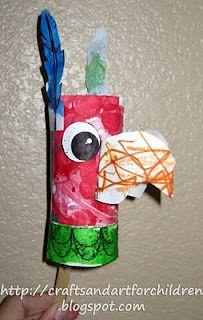 Mexican Bird Maraca/Rattle for Cinco de Mayo craft