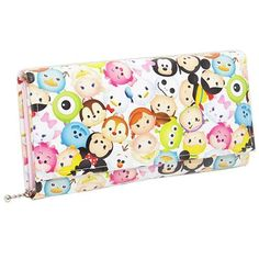 Cinemacollection | Rakuten Global Market: DISNEY TSUM TSUM and Zamzam and women's wallets: lateral or long wallet obuse Disney ☆ artweld (made in Japan /Made in Japan) junior for purse / anime shopping ☆ cinema collection ◆