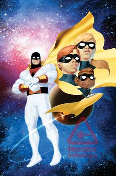 Space Ghost, Herculoids Headline Future Quest Showcase From Jeff Parker And Ariel Olivetti In August Space Ghost, Cartoon Cartoon, Cartoon Characters, Comic Book Covers, Comic Books Art, Comic Art, Book Art, Thundercats, Gi Joe