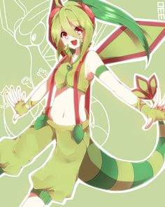 gijinka human version pokemon, flygon
