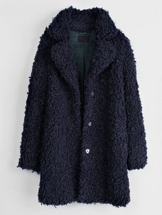 Zadig & Voltaire Kana Faux-Fur Snap Coat // #Shopping