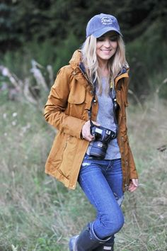 Wander Outfit Ideen für Frauen im Herbst - My Tutorial and Ideas Fall Winter Outfits, Autumn Winter Fashion, Winter Clothes, Winter Dresses, Winter Wear, Winter Hats, Camping Outfits For Women, Womens Hiking Outfits, Sport Outfits