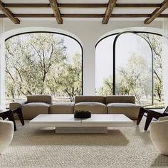 Imagicasa® (@imagicasa.be) • Instagram photos and videos Modern Interior Design, Interior Architecture, Interior And Exterior, Beautiful Living Rooms, My New Room, My Dream Home, Home Decor Inspiration, Living Room Designs, Family Room