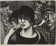 Mabel Dwight --New Deal artist