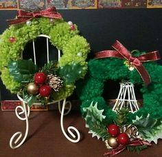 クリスマスリースの作り方 その他 編み物・手芸・ソーイング ハンドメイド・手芸レシピならアトリエ