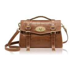 Mulberry - Alexa  in Oak Soft Printed Leather £895