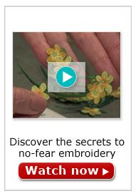 No-Fear Embroidery Video