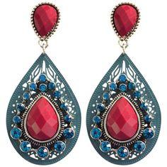 https://www.goedkopesieraden.net/Oorstekers-ovalen-hangers-met-blauw/rode-steentjes