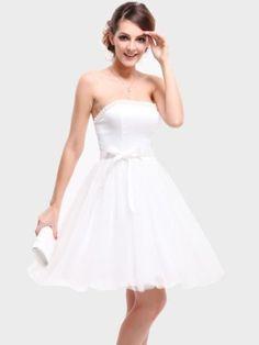 Ever Pretty Strapless Stunning Beads Padded Bow Short Wedding Dresses 03194, HE03194WH06, White, 4US Ever-Pretty,http://www.amazon.com/dp/B00BAM0TMQ/ref=cm_sw_r_pi_dp_q-sjrb0EREH4AJG4