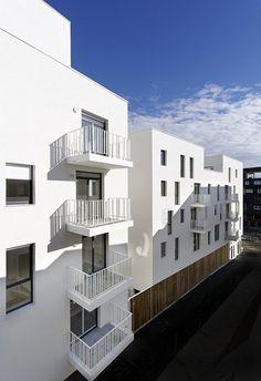 Résidence sociale Terres Neuves, Bègles, 2014 - Brochet Lajus Pueyo agence d'architecture