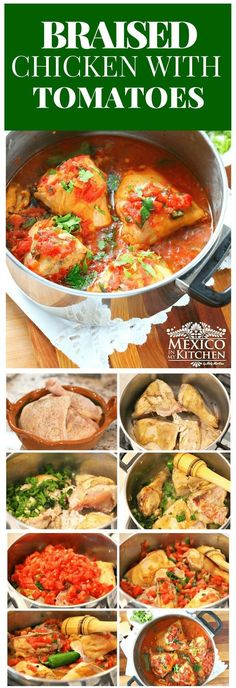 This dish isn't exclusive to any specific region of Mexico; you can find a different version in every household since every cook prepares it in his or her own personal way. #recipe #mexican #food #chicken