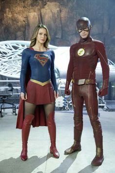 Supergirl and The Flash crossover was spectacular!