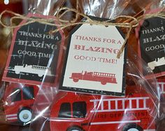 Firefighter Theme placecards Wedding Pinterest Firefighter